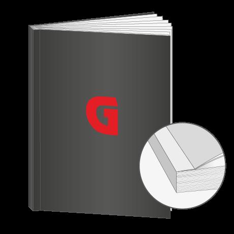 Broschüren Klebebindung DIN A7